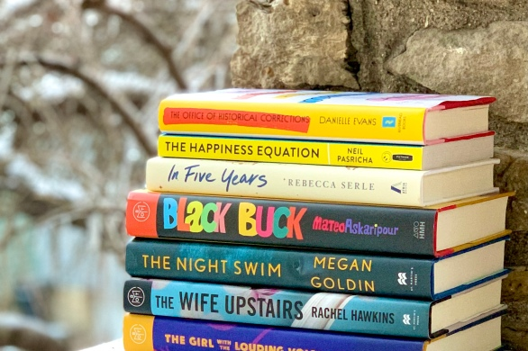My pile of books I read in January 2021.